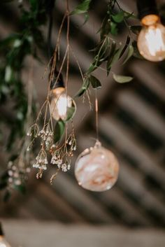 Our glass baubles make a stunning decoration whether they are filled with fairy lights or even fresh flowers.