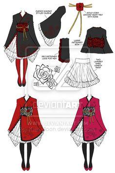 Wa Qi lolita design by *Kairi-Moon on deviantART