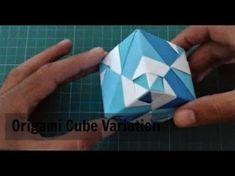 Origami Sonobe Variation أوريغامي سونوب عشروني - YouTube