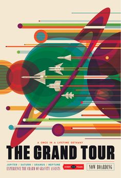 NASA expands collection of retro-style posters promoting space travel