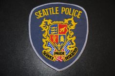 Seattle Police Patch, King County, Washington