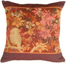 Pillow Décor throw pillow and decorative pillow collection includes Chickadee Garden Bird Pillow Floral Throw Pillows, Accent Pillows, Decorative Throw Pillows, Pillow Inserts, Pillow Covers, Bird Pillow, Canvas Home, Dot And Bo, Cotton Canvas