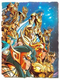 knights of the zodiac - Google Search                                                                                                                                                     Mais