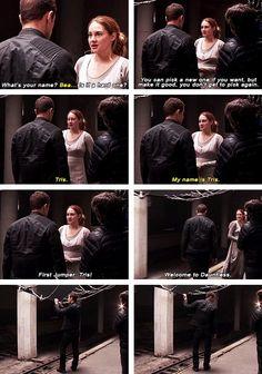 Divergent behind the scenes.