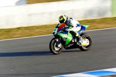 Roberto Rolfo en el Circuito de Jerez