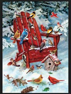 Adirondack Birds Puzzle 60984