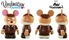 Animation Series 3 Basil of Baker Street Disney Vinylmation, Great Mouse Detective