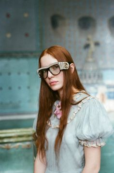 Discover an exclusive film for Gucci's Spring Summer 2017 eyewear collection directed by Petra Collins inspired by the memories and places of her childhood, Petra Collins, Gucci Spring, Alessandro Michele, Fashion Pictures, Passion For Fashion, Luxury Branding, Eyewear, Fashion Photography, Spring Summer