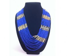 Koka Cobalt Necklace - Something wants me to connect with my inner Navajo ;)