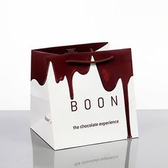 bag chocolate droplet melting