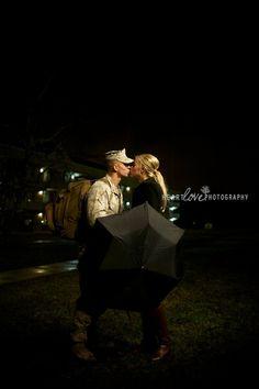 Marine love.