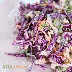 Curtis Stone's Fireworks Coleslaw #TheChew #Coleslaw