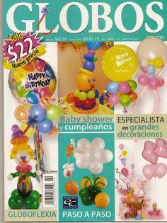 Revistas de manualidades Gratis: Globos para baby shower