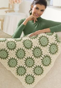 Circles in Octagons Throw in Red Heart Super Saver Economy Solids - WR2039. Discover more Patterns by Red Heart Yarns at LoveCrochet. We stock patterns, yarn, hooks and books from all of your favorite brands.