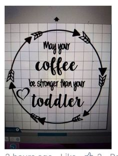 May your coffee be stronger that your flight schedule - funny quote graffiti with hearts and arrows. parenting and coffee humor. Vinyl Tumblers, Glitter Tumblers, Glitter Cups, Silhouette Cameo Projects, Silhouette Design, Vinyl Crafts, Vinyl Projects, Mom Tumbler, Tumbler Cups