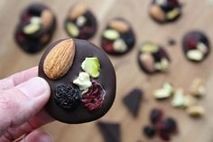 Gathered By Claire: Dark Chocolate Fruit & Nut Bites. The perfect healthy, on the go snack. On The Go Snacks, Claire, Good Food, Chocolate, Fruit, Dark, Healthy, Blog, Recipes