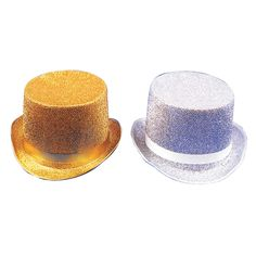 Top Hat Lame Gold - OrientalTrading.com