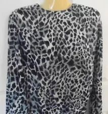 Sweet Leopard spots, with long button cuffed sleeves. Ebay Shopping, Online Shopping, Velour Tops, Animal Print Blouse, Leopard Spots, Casual Work Outfits, Dressy Tops, Gingham, Clothing Co