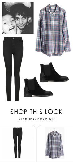 """""""Untitled #129"""" by nailahmanal ❤ liked on Polyvore featuring Ally Fashion and Madewell"""