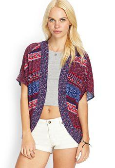 Patchwork Floral Kimono | FOREVER21 #SummerForever #Kimono
