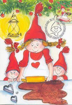 christmas postcards 2003 | Card & Christmas Stamp 2003