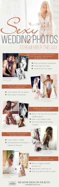 8 Wedding Photo Infographics To Make Your Wedding Photos Amazing ❤ sexy wedding photos wedding photo infographics ❤ See more: http://www.weddingforward.com/wedding-photo-infographics/ #wedding #bride