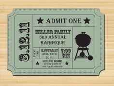 10 best tickets images on pinterest fundraising events barbecue