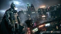 Game screenshots A view of Gotham city