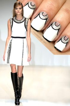 cool MANICURE MUSE: Gucci Fall '14 – Miss Ladyfinger