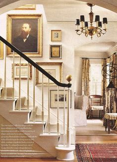 STAIRCASE stairs for entry includes an arch to living room. STAIRCASE stairs for entry includes an arch to living room. Love the gold finial- Balustrades, Banisters, Black Banister, Railings, Stair Banister, Stair Rods, Entry Stairs, Entry Hall, Staircase Walls
