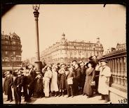 """Eugene Atget - LÉclipse, avril 1912.  He did not participate in any exposure, no magazine published his photographs before his death, only then his works touched the sensitivity of the surrealists, who dedicated a special issue of their magazine """"Le  Revolution Surrealiste"""""""