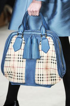 Burberry Prorsum Fall 2011 Runway Bags | Style Pantry. Yes please!
