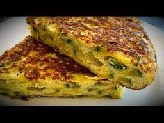 Tarta de zapallitos | Recetas saladas - YouTube