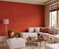 Home Decor Trends, Home Decor Styles, Home Decor Inspiration, Interior Walls, Modern Interior, Interior Design, Wall Texture Design, Asian Paints, 70s Decor