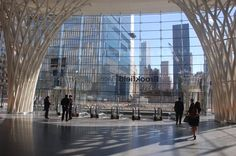 New entry pavilion at Brookfield Place, NYC (formerly The World Financial Center, just opposite ground zero)