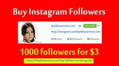 Buy Instagram followers #BuyInstagramfollowers