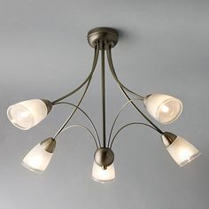 Buy John Lewis Mizar Ceiling Light, 5 Arm Online at johnlewis.com