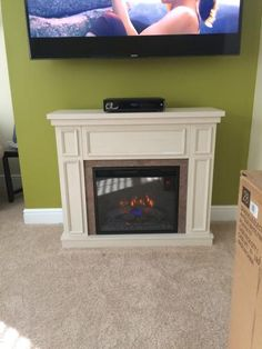 1000 Ideas About Stone Electric Fireplace On Pinterest