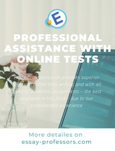 Our #online #test #services are the finest #quality. Essentially, we provide every type of #help a #student might need to get top marks in their #college or #university. In providing an appropriate and timely #onlinetest #writing service, we are able to help #students in one of two ways i.e. by taking a test or #exam for them or by providing the #support they need to take an exam on their own.