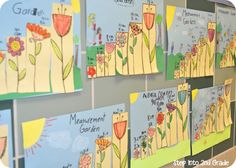 Measurement Garden--Step into 2nd Grade with Mrs. Lemons