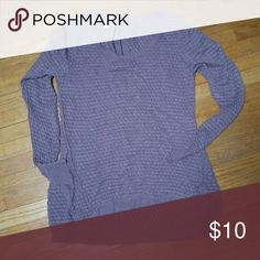 Maurices long sleeve sweater Light Purple in color. Zipper on the back by neck. Sweaters Cardigans