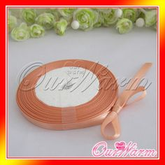"25 Yards 6mm 1 4"" Satin Ribbon Craft Bow Wedding Favor Colors U Pick | eBay"