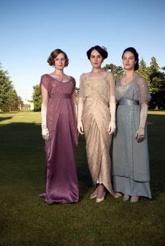 Historical style: Downton Abbey   The Crawley Girls