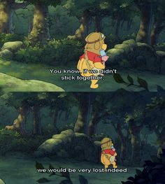 MickeyMeCrazy Disney Winnie the Pooh Winnie The Pooh Quotes, Disney Winnie The Pooh, Disney Love, Disney Magic, Disney Pixar, Disney Stuff, Eeyore, Tigger, Childhood Tv Shows