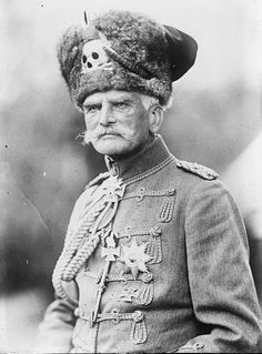 German World War I General August von Mackensen.