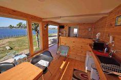 Cabaña Container N Borde Lago Chile, Conference Room, Furniture, Home Decor, Apartments, Interiors, Decoration Home, Chili, Room Decor