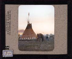 More Blackfoot Decorated Tipis c.1900