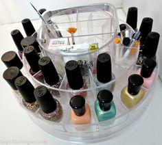 The Polish Parlor Nail Storage Photos  Review | Blushing NoirBlushing Noir