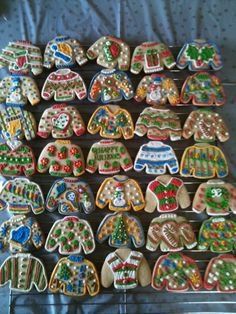 Ugly Christmas Sweater Cookies by sismiss82 on Etsy