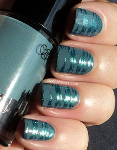 Catrice 'New York' and CG Deviantly Daring. Could do this with Essie Schoolofhardrocks also..